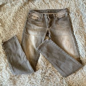 CHIP & PEPPER distressed skinny jeans